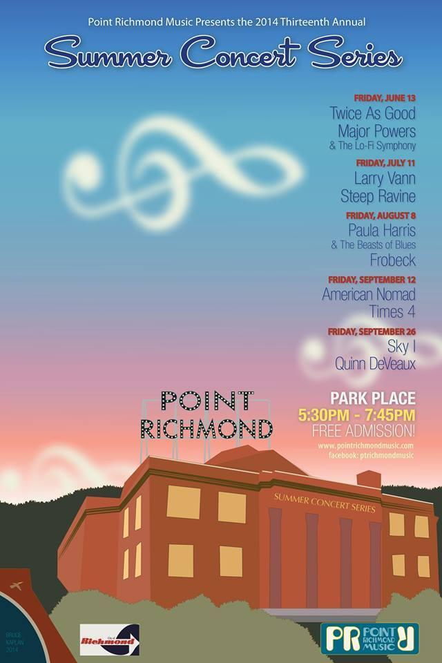 2014 Poster designed by Bruce Kaplan